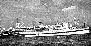 USS Siboney (ID-2999) - USAHS Charles A. Stafford, c. 1944–1946