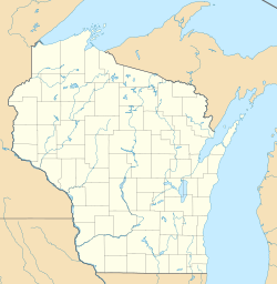 Sauntry, Wisconsin is located in Wisconsin