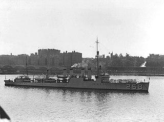 USS <i>Aulick</i> (DD-258)