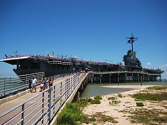Corpus Christi, Texas - USS ''Lexington'' floating museum