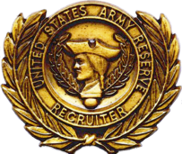 USA Reserve Recruiter Badge