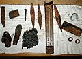 US Navy 020727-N-3725V-003 Artifacts recovered from the USS Monitor.jpg