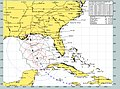 US Navy 040914-N-0000X-003 Current forecast projected path and wind speeds of Hurricane Ivan from Sept 14 to Sept 19.jpg