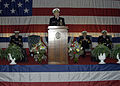 US Navy 050204-N-3527B-008 Commander, U.S. Fleet Forces Command-U.S. Atlantic Fleet, Adm. William J. Fallon, speaks at the change of command ceremony for Naval Surface Force, U.S. Atlantic Fleet.jpg