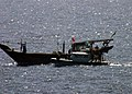 US Navy 060507-N-0000X-102 Sailors assigned to dock landing ship USS Germantown (LSD 42) prepare to board an Iranian dhow.jpg