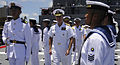 US Navy 100608-N-7498L-492 Adm. Patrick Walsh inspects sailors assigned to JS Kashima (TV 3508).jpg