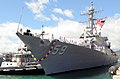 US Navy 100806-N-3666S-037 The guided-missile destroyer USS Russell (DDG 59) arrives in Joint Base Pearl Harbor-Hickam after a scheduled seven-month deployment.jpg