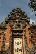 Ubud temple entrance