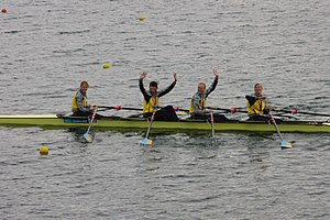 Ukraine at the 2012 Summer Olympics - Ukraine wins its first ever Olympic gold medal for rowing in women's quadruple sculls.