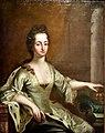 Ulrika Eleonora, Queen of Sweden, by David Klöcker Ehrenstrahl, 17th century. Konstmuseum, Sweden.jpg