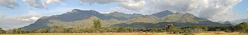 Uluguru Mountains, in Tanzania