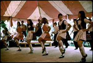 """A group of """"unicoi cloggers"""" from Wh..."""