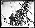 Up the rigging on MAGDALENE VINNEN, March 1933 (7126354557).jpg