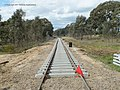 Upgrade work on the Maryborough to Ararat line near Ararat.jpg