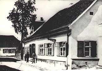 Uppsala House - The house at the end of the 19th century