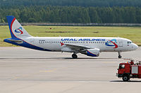 VP-BMW - A320 - Ural Airlines