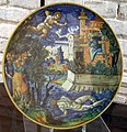 Urbino, guido merlini o lanfranco, ero e leandro, XVI sec..JPG