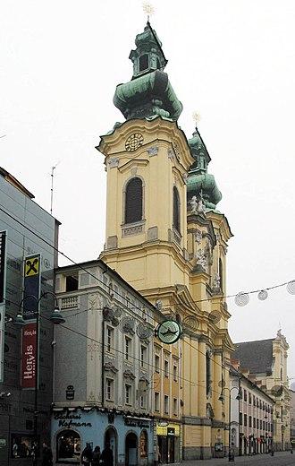 Linz - Church of Saints Michael and Ursula, Linz