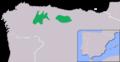 Ursus arctos arctos. Distribucion.png
