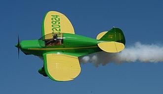 Culver Dart - A restored 1939 Culver Dart GK equipped for aerobatics over PLK