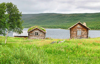 Utsjoki - Image: Utsjoki Mantojarvi
