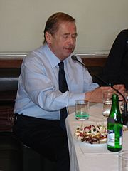 First Czech President Václav Havel