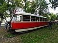 Výstaviště Holešovice, historické tramvaje 2015, vůz 5001.jpg