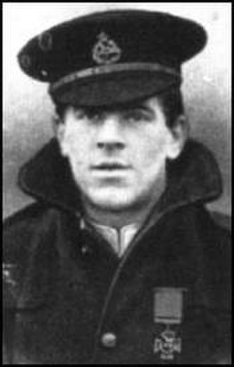 East Lancashire Regiment - Image: VC Spencer John Bent