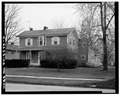 VIEW OF NORTH AND WEST FACADES - John Mercer Langston House, 207 East College Street, Oberlin, Lorain County, OH HABS OHIO,47-OBER,2-2.tif