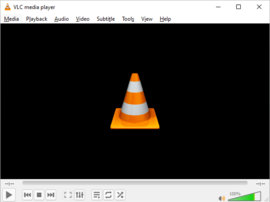 Screenshot di VLC media player