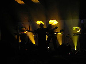 "VNV Nation - VNV Nation performing ""Legion"" at The Masquerade in Atlanta, Georgia"