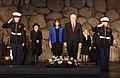 VP Mike Pence visits Yad Vashem Holocaust Museum (39152597004).jpg