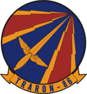 Naval flight officer - Image: VT 86 logo