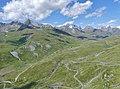 Vallon du Col du Petit-Saint-Bernard vu de la Redoute Ruinée (été 2019).JPG