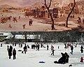 Van valami ami közös a két képen^ Village in Winter. XVII.century by Antonie Beerstraten, Dutch. - panoramio.jpg