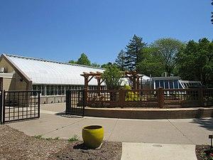 Vander Veer Botanical Park - Image: Vander Veer Park Conservatory