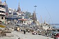 Varanasi, India, Cremation ghats.jpg