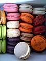 Various macarons, June 2009.jpg