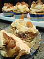 Vegan Coconut Infused Horchata Cupcake with Tangelo Fig Compote (4506585357).jpg