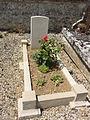 Vendresse-Beaulne (Aisne) CWGC tombe au cimetière communal.JPG
