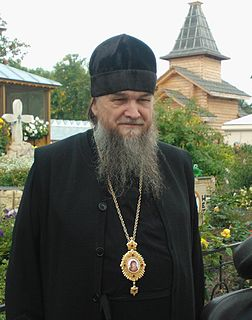 Benjamin (Likhomanov) Russian Orthodox Metropolitan of Volgograd Oblast