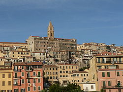 Panorama of Ventimiglia