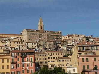 Ventimiglia - Panorama of Ventimiglia