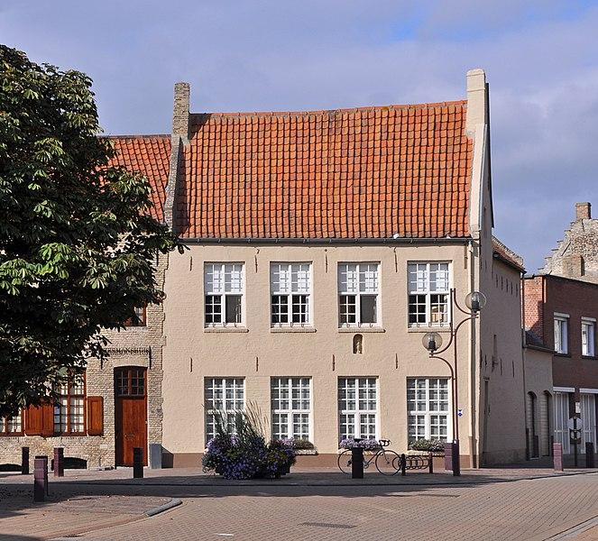 Veurne (Belgium): house Pannestraat 26