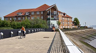 Drypool Area of Kingston upon Hull, East Riding of Yorkshire, England