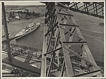 View from the steel arch of the Harbour Bridge, 1932 (8283746734).jpg