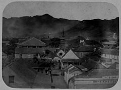 View looking up Rose Lane, now Bethel Street, c. 1858.jpg