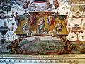 Villa medici, studiolo del cardinale, grottesche volta 05 progetto per giardini della villa.JPG