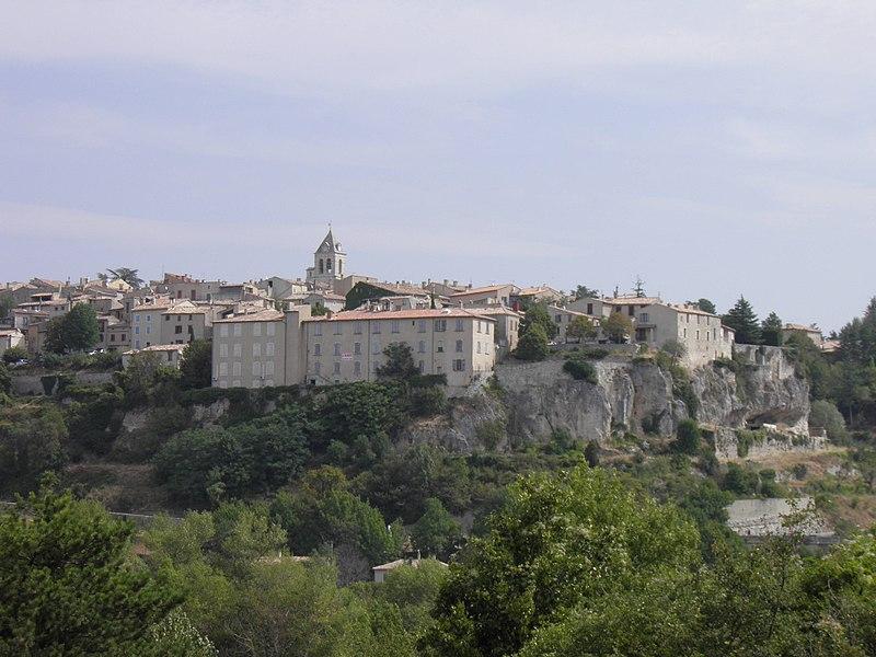 Village (Sault, Vaucluse, France)