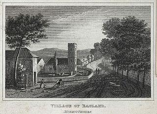Village of Ragland, Monmouthshire